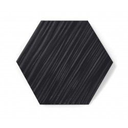 Hexagon BLACK MAT RELIEF