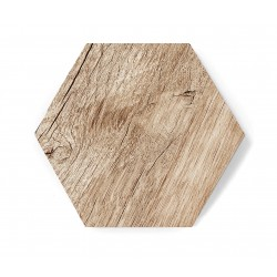 Hexagon WOOD MAT